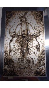 картина на металле гравировка