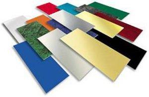 металеві листи для сублімації